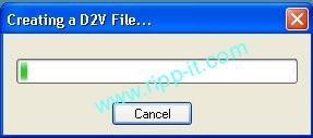 Ripper DVD - génération du fichier d2v